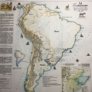 First map Done !! Andean Tropeirismo